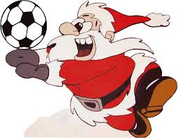 weihnachtsfussballmann